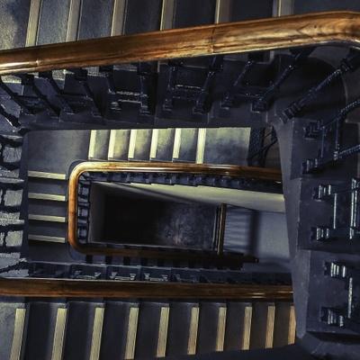 Limpiar las escaleras