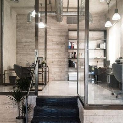 Mobiliario de acero